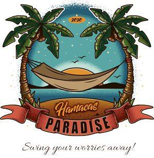logo hamacas paradise